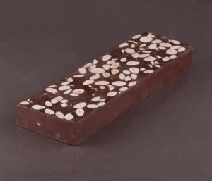 TURRÓN DE CHOCOLATE PURO 600gr
