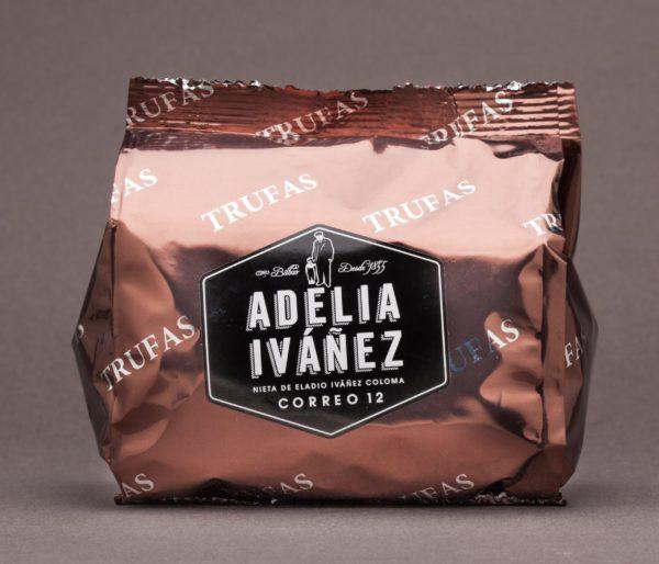 TRUFAS DE CACAO Y CHOCOLATE PURO BOLSA 250GR